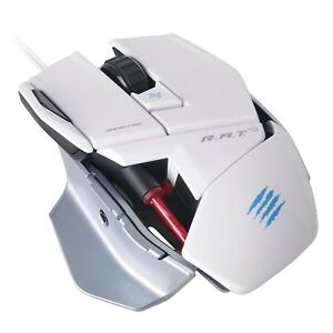 Details about Mad Catz R A T 3 Optical Gaming Mouse for PC and Mac