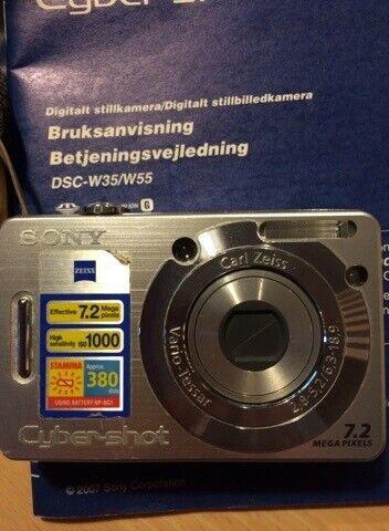 Kamera, Sony, Cyber-shot