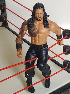 WWE MATTEL ROMAN REIGNS WRESTLING Action FIGURE
