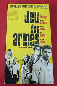 Rare-VHS-French-Movie-Jeu-des-Armes-Juliette-Lewis-Ryan-Phillippe