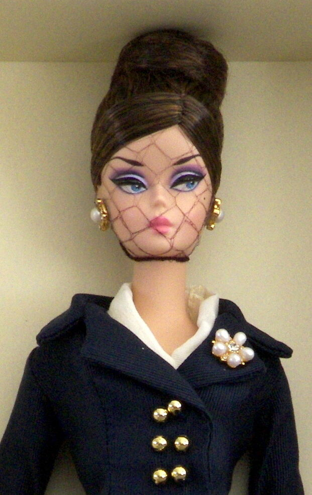 Bellissimo Silkstone Boater Ensemble Barbie NRFB Fashion Model Collection