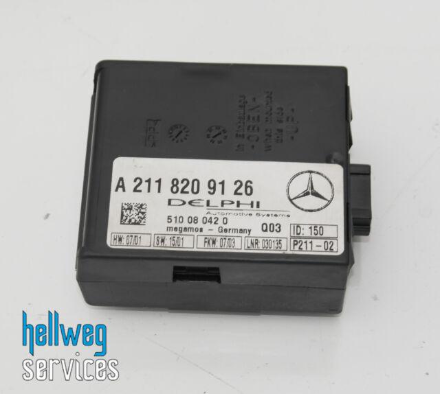 Mercedes C180 W203 S203 - Remolque Protección Unidad de Control Sistema Alarma -
