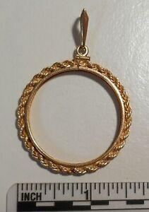 St-Gaudens-20-gold-14k-diamond-cut-screw-bezel-34mm-0-30-oz-9-4-g