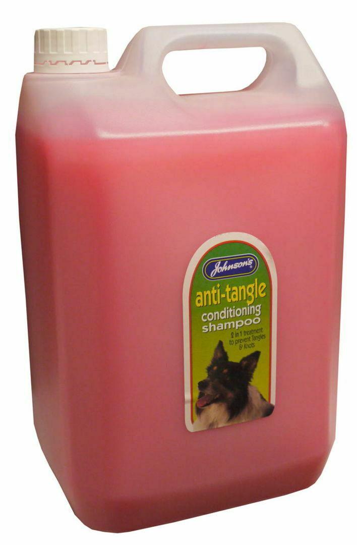 Johnson's Dog Anti-tangle Conditioning Shampoo 5 Ltr - Knots Coat Knots Clean