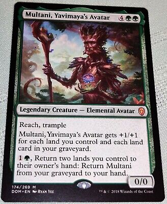 MTG Dominaria Yavimaya/'s Avatar Multani