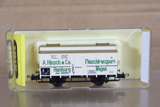TRIX 23538 KBAY HINSCH HAMBURG FLEISCHTRANSPORT WAGON 602109 ALTONA BOXED nt