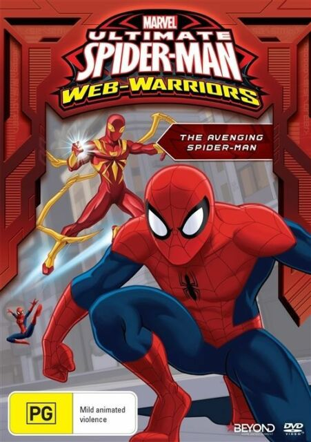 The Ultimate Spider-Man - Avenging Spider-Man (DVD, 2016) Like New