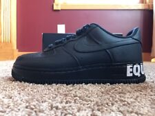 """419778529307 item 4 Nike Air Force One CMFT """"Equality"""" QS Size 10 Black Black-White-  Gold AQ2125 001 -Nike Air Force One CMFT """"Equality"""" QS Size 10  Black Black-White- ..."""