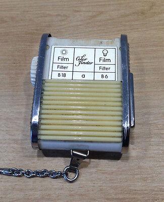 Foto & Camcorder Fotostudio-zubehör Gossen Sixtomat Color Finder Belichtungsmesser Light Meter Lichtmesser Tasche Produkte HeißEr Verkauf
