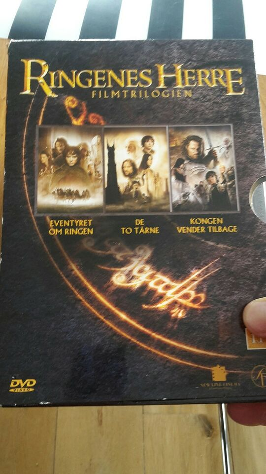 Ringenes Herre, instruktør Peter Jackson, DVD