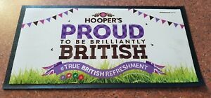 "BRAND NEW HOOPER'S BAR RUNNER ""PROUD TO BE BRILLIANTLY BRITISH"" xY94tEuk-09163259-422412085"