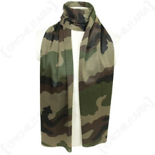 CCE Camo Mesh Net Scarf - Scrim Neckerchief Cadets Army Military Soldier Airsoft