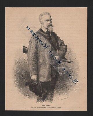 Sweet-Tempered 1874 Abbildung Guido Hammer Maler Good For Energy And The Spleen Art Art Prints