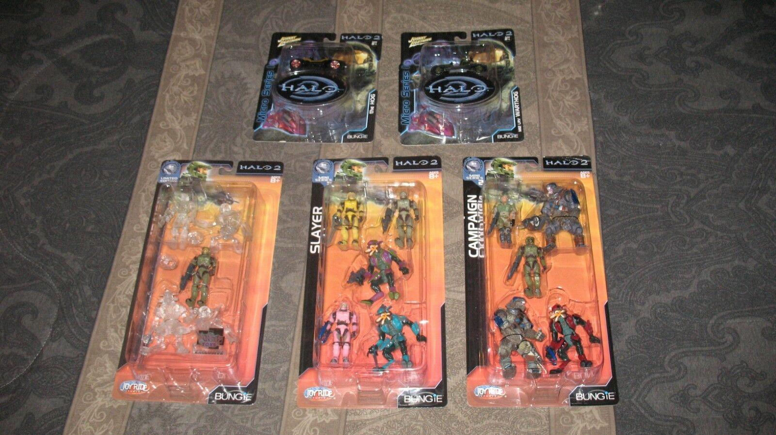 Halo 2 - mini - kollektion (slayer, kampagne 1 & 2, warthog & Gold ') - spritztour