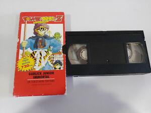 DRAGON-BALL-Z-GARLICK-JUNIOR-IMMORTEL-VHS-FILM-BANDE-ANIMATION-MANCHE-CASTILLAN
