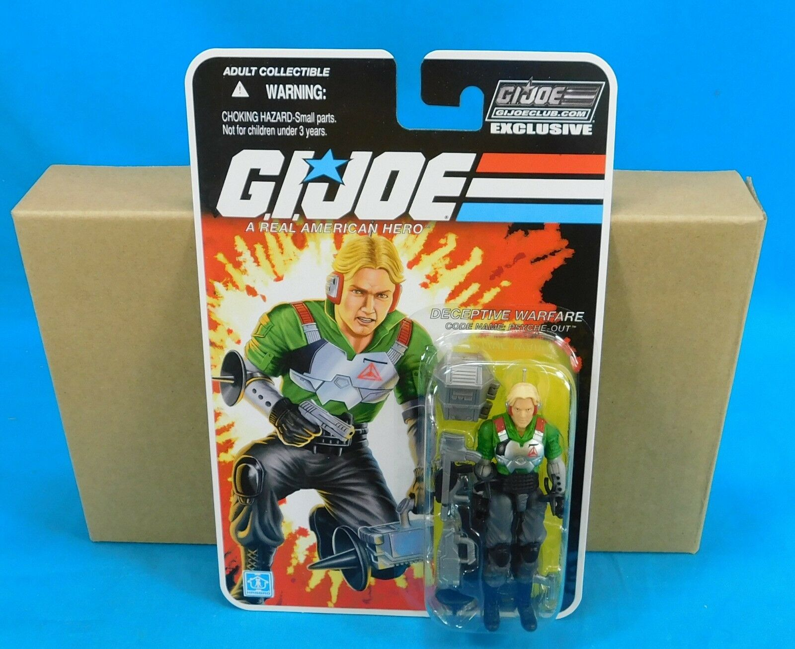 2015 Hasbro G.I Joe Club Exclusive Psych-Out New on Card