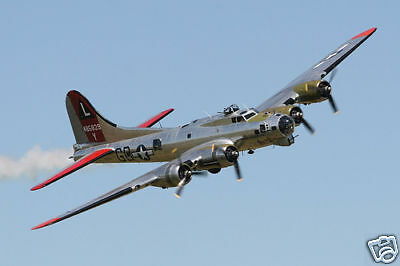 Giant Scale American WW-II B-17G Flying Fortress Plans & Templates 125ws