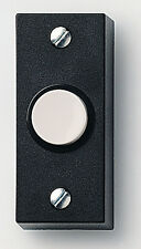 Unit Quantity 1 BELL PUSH  black  FRIEDLAND D824 UPVC