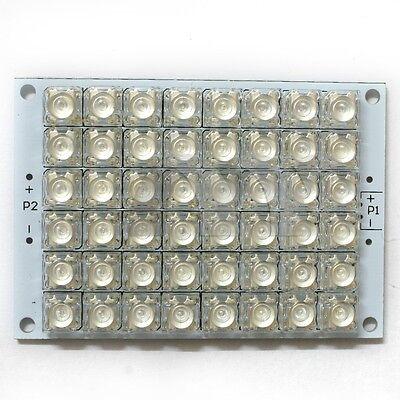 12V Light Board Red LED Panel Board 48 Piranha LED Energy Saving Panel Light
