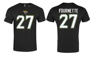 Black Jacksonville Jaguars Men/'s NFL Fournette Name and Number T-Shirt New