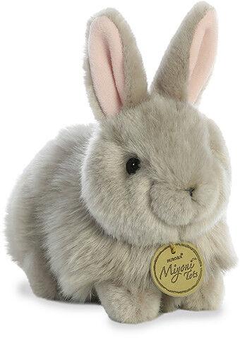 "Miyoni Tot Angora Bunny Grey 7.5/"""