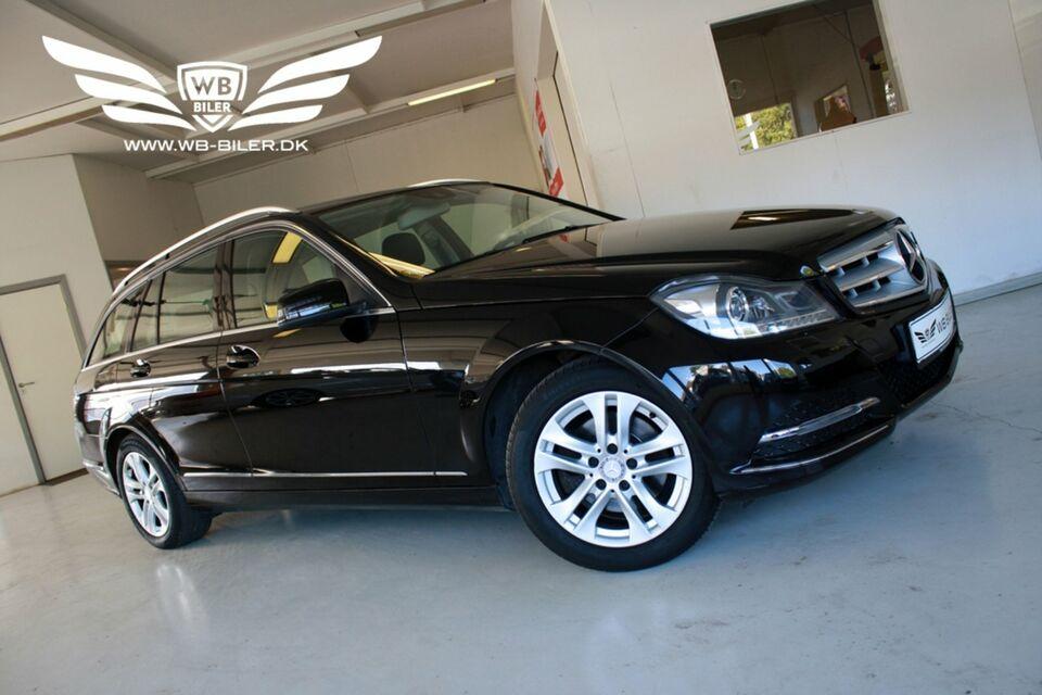 Mercedes C220 2,2 CDi Avantgarde stc. aut. BE Diesel aut.