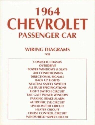 Chevrolet 1964 Impala  Bel Air  U0026 Biscayne Full Size Car
