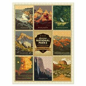 Americanflat 500 Piece National Parks Jigsaw Puzzle 18x24 Inches