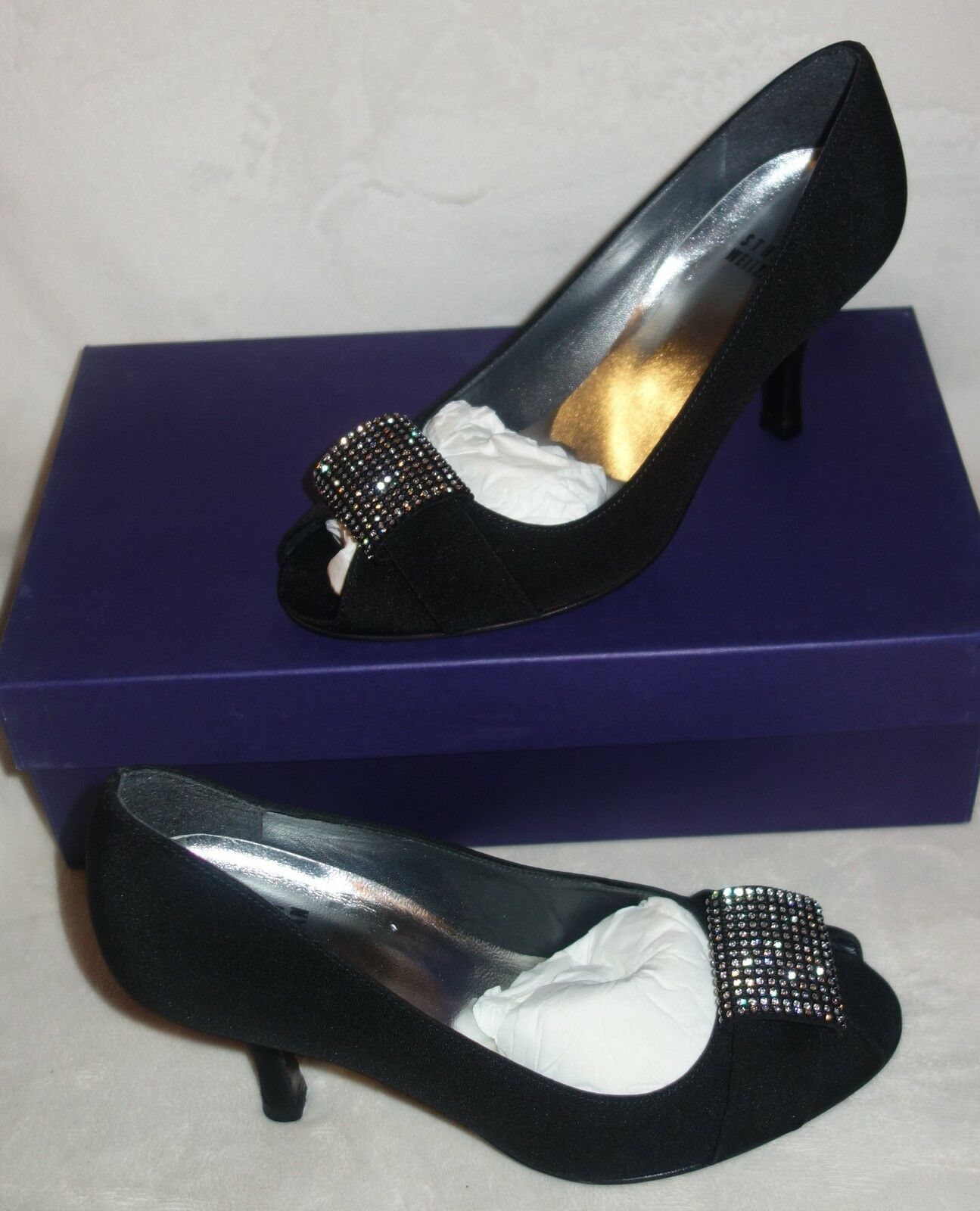Stuart Weitzman obvious black pumps shoes  sz 36.5 US SZ 6 new