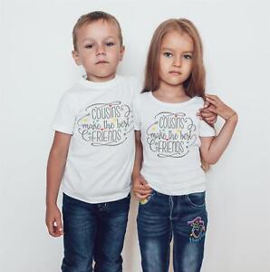 d445f4968 Image is loading Cousins-make-the-best-friend-Kids-T-Shirts