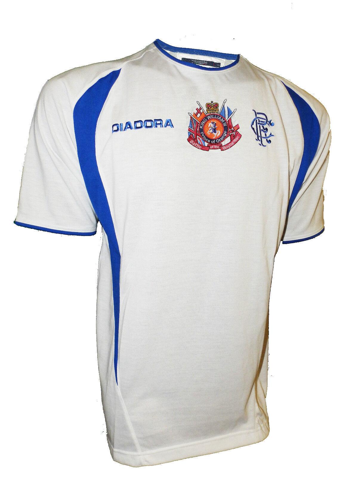 Glasgow rangers fc football shirt king billy william of