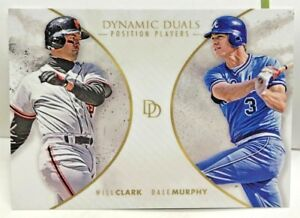 Dale-Murphy-Will-Clark-2018-Topps-On-Demand-Dynamic-Duals-PP6-SP-700