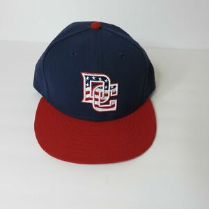 New-Era-Washington-DC-Nationals-Fitted-Baseball-Hat-Men-039-s-7-3-4