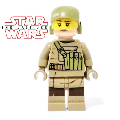 from set 75177 Lego Star Wars The Last Jedi Resistance Trooper female