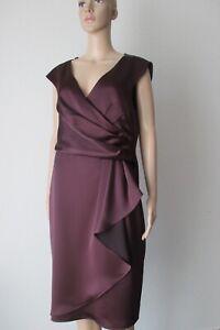 2019 Nouveau Style Manière Fete Robe Dans La Couleur Prune (violet), Taille 42-afficher Le Titre D'origine Circulation Sanguine Tonifiante Et Douleurs D'ArrêT