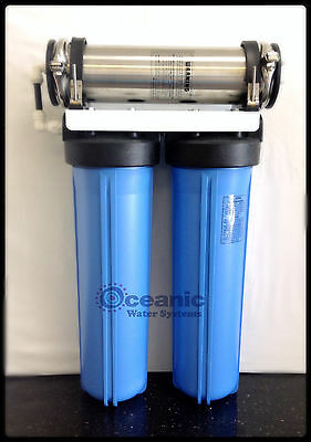 Oceanic Workhorse Hydroponic Reverse Osmosis water filter SYSTEM 600 GPD SXT20