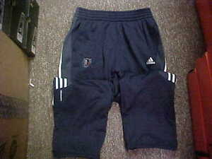 Official-NBA-Charlotte-Bobcats-Team-Issued-Adidas-Navy-Travel-Sweatpants-Size-S