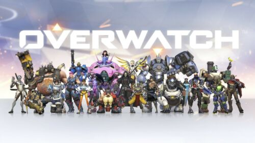 Overwatch Iron on T shirt Transfer,bibs,bags and Cushions