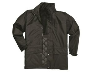 Waterproof Jacket Mens Bomber lined Coat Two-Tone  Portwest Outdoors size S561