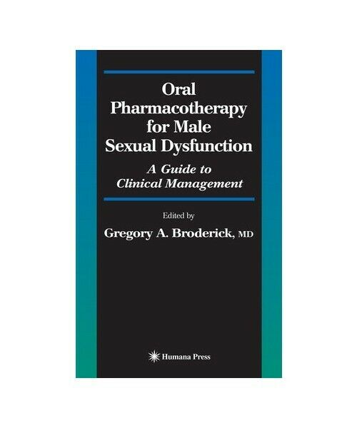 """""""Oral Pharmacotherapy for Male Sexual Dysfunction"""""""