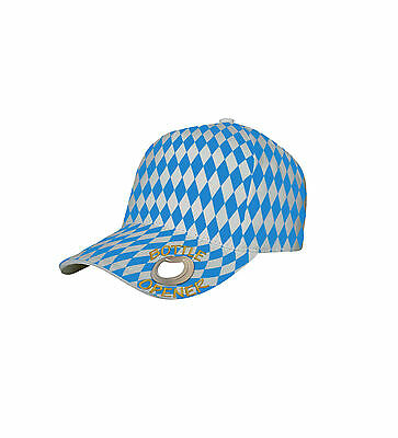 IDEAL FOR OKTOBERFEST NOVELTY BASEBALL CAPS WITH BOTTLE OPENER IN PEAK