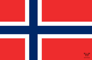 Flagge-Norwegen-Aufkleber-8-5-x-5-5-cm-Fahne-Sticker-WHATABUS