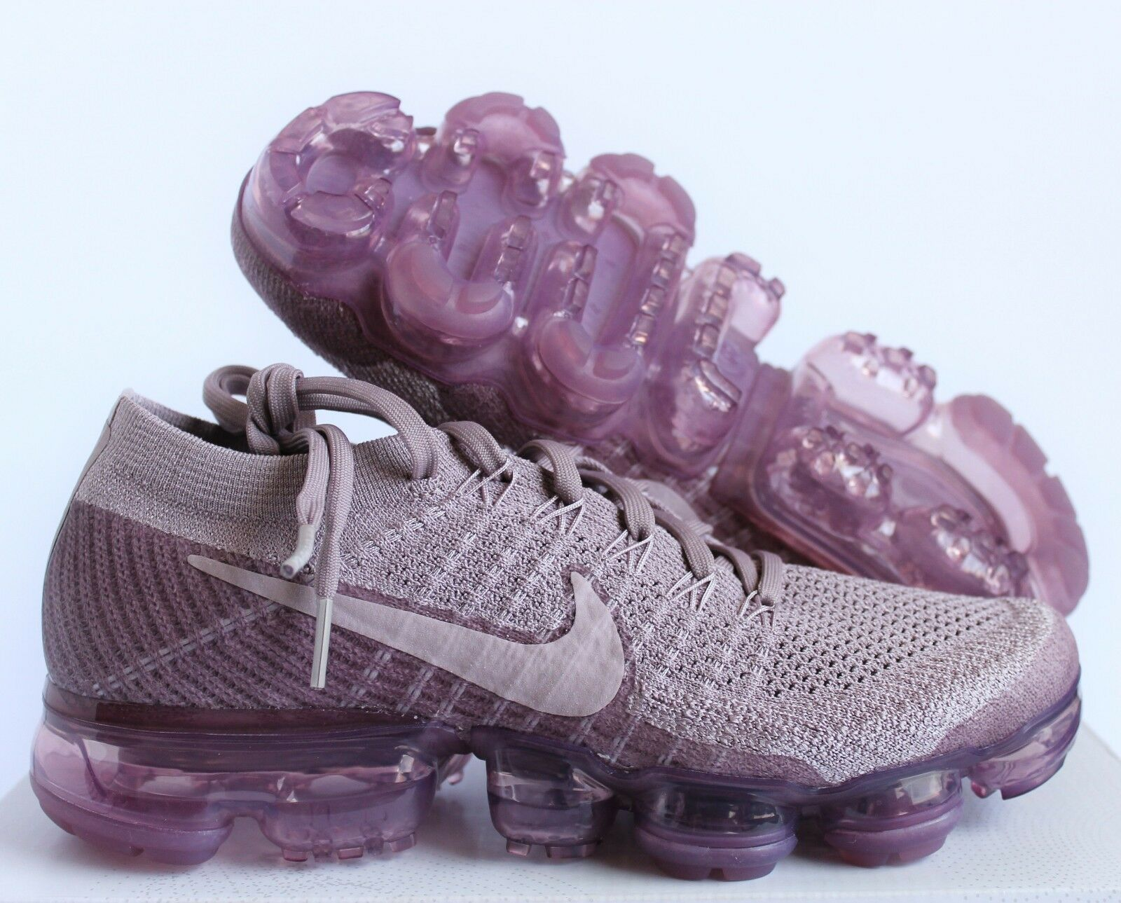 Nike Air Vapormax Flyknit Flyknit Flyknit Ciruela Niebla rosado Mujer Talla 12    Hombre Talla 10.5 (849557-502)  Las ventas en línea ahorran un 70%.
