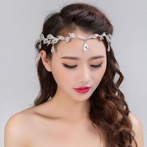 Bridal-Wedding-Crystal-Flower-Tiara-Crown-Pearl-Rhinestone-Hair-Band-Headband