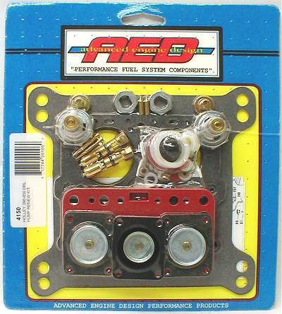 AED 4150 Carburetor Rebuild Kit Holley Double Pumper 650 750 850 CARB
