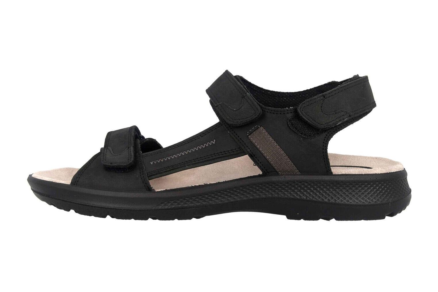 Jomos sandalias en talla extragrande negro 506605 166 0044 grandes zapatos caballero