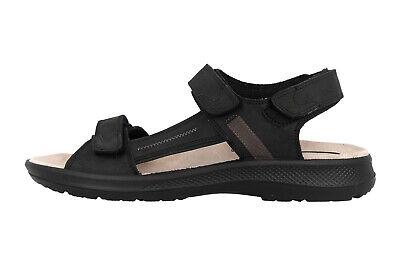 Jomos Sandalen In Übergrößen Schwarz 506605 166 0044 Große Herrenschuhe To Ensure A Like-New Appearance Indefinably Men's Shoes