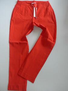 Sheego-Bengalin-Pants-Ladies-Elastic-Band-Red-Size-44-52-367-Oversize-New