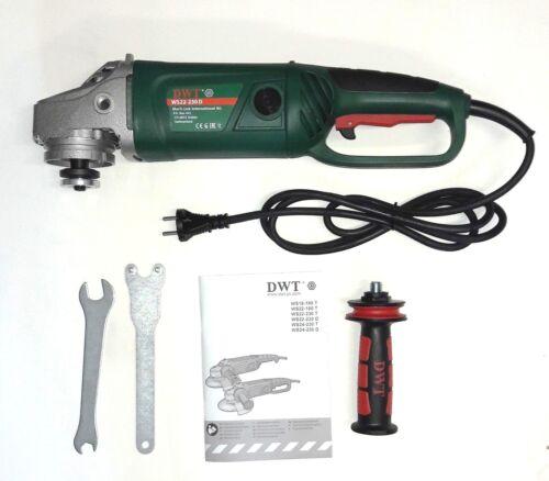 Trennschleifer mit Anti-Vibration Handgriff Winkelschleifer Ø 230 mm 2200 Watt