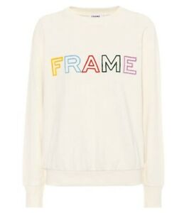 Sold-Out-Frame-White-Logo-Sweatshirt-Sz-L-RRP-349-As-New